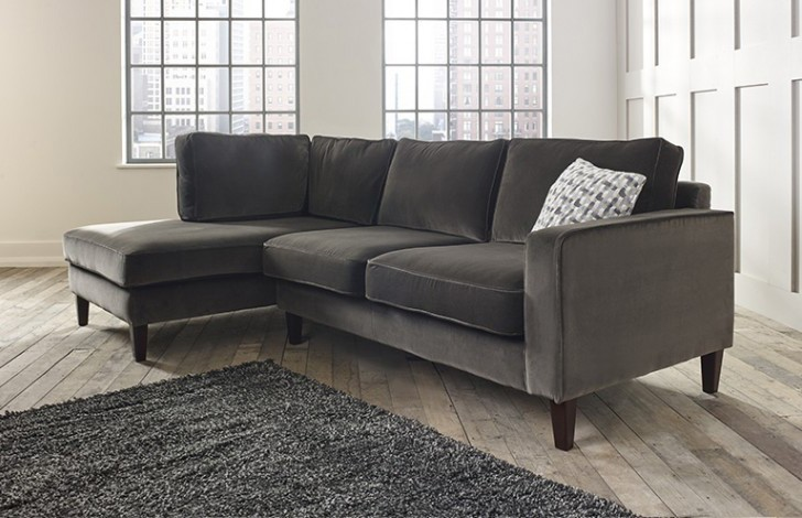 Drake left Hand Facing Fabric Chaise Sofa
