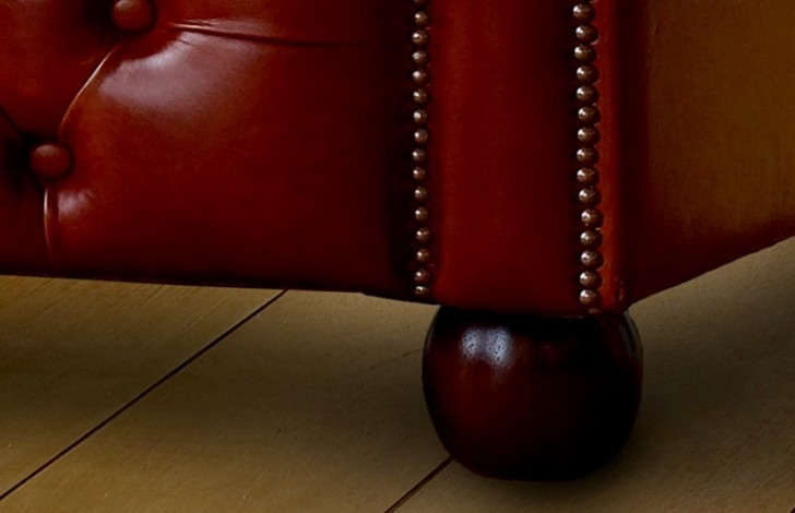 Darlington Red Chesterfield Sofa