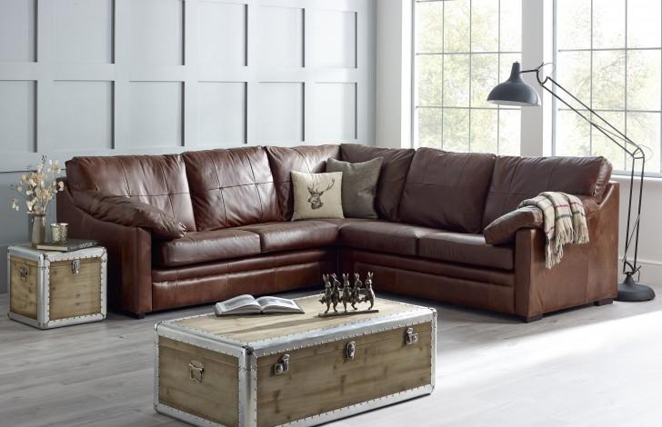 Harrington Padded Arm Corner Sofa