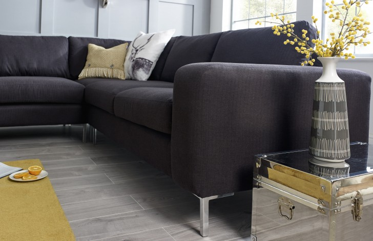 Wellington Charcoal Corner Sofa