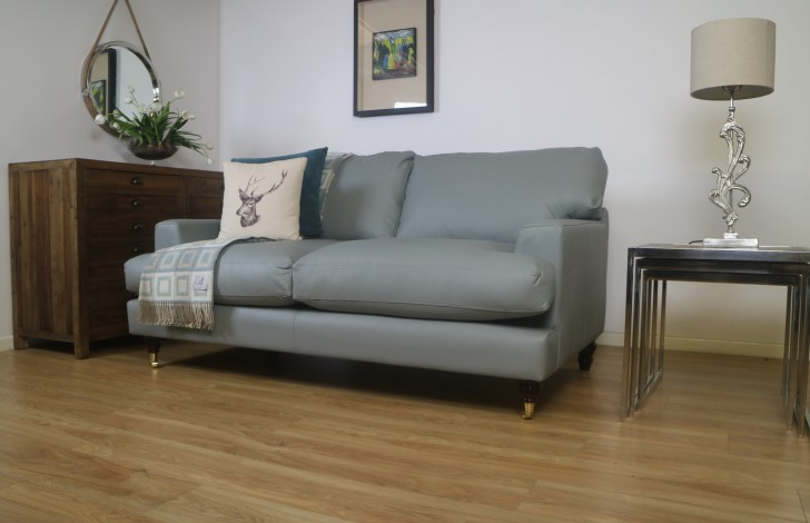Wilmslow Contemporary Leather Sofa