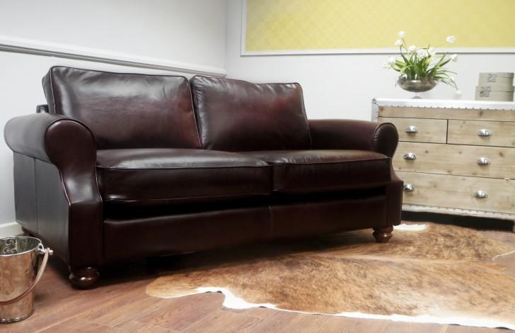 Churchill Leather Sofa