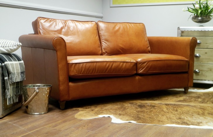 Salisbury Leather Sofa