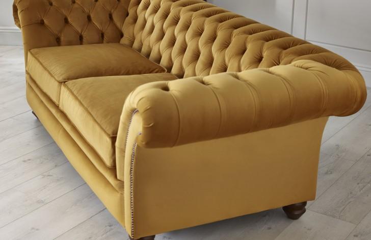 Calvert Luxury Fabric Sofa