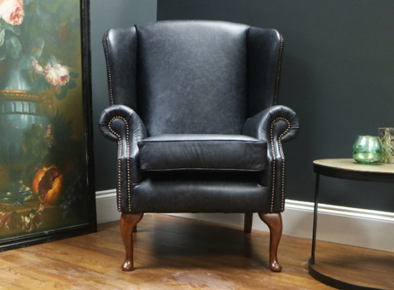 Douglas Leather Armchair