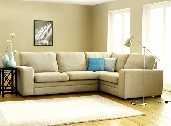 Abbey Fabric Corner Couch