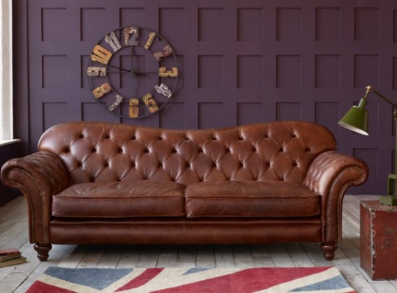 Leather Sofas: 2, 3 & 4 Seater - Handmade Settees & Couches