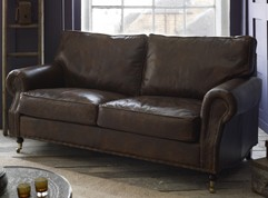 Arlington Studded Leather Sofa