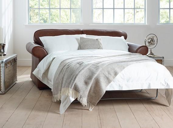 Chatsworth Leather Sofa Bed