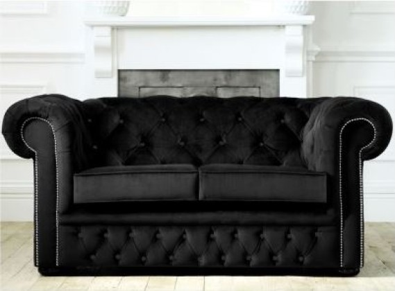Fabric Chesterfield Sofabed