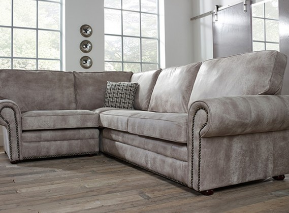 Portland Contemporary Corner Sofa Left Hand Facing