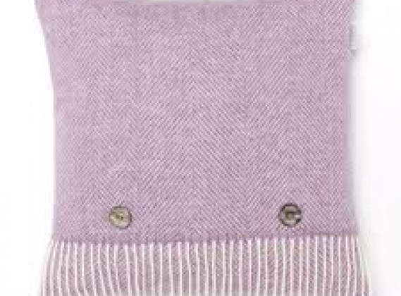 Herringbone Cushion Lilac