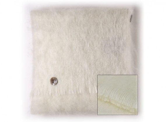 Mohair Cushion Natural