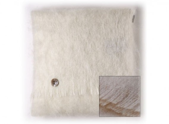 Mohair Cushion Vanilla