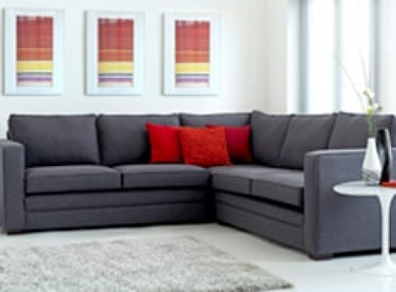 Sectional Fabric Corner Sofa Components