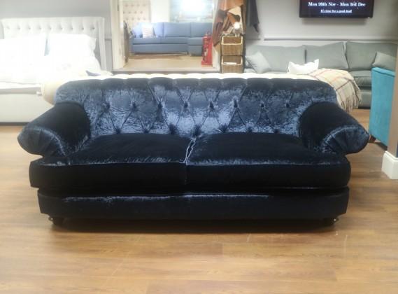 Nicole 3 Seater Sofa - Delft Blue