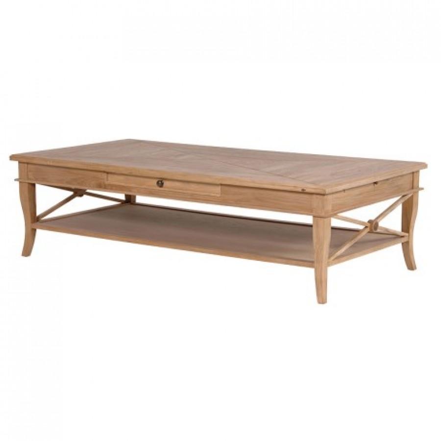 Sacramento Weathered Oak Coffee Table