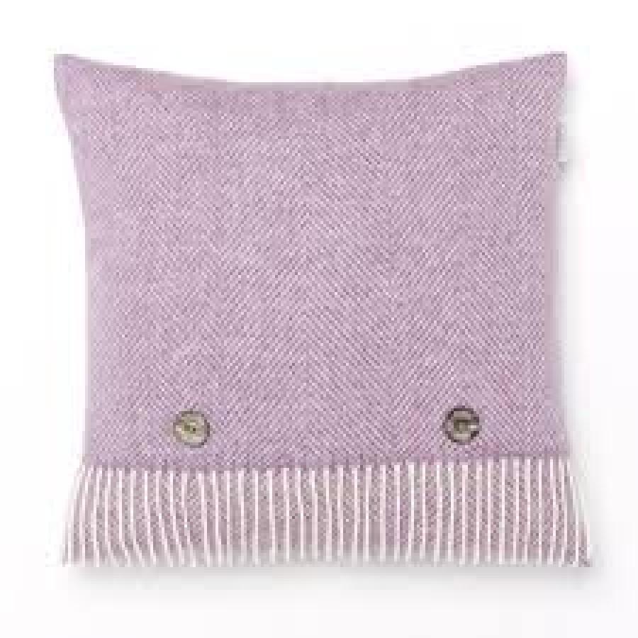 Herringbone Cushion Lilac