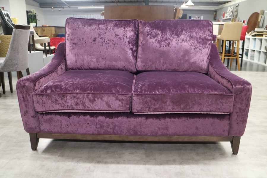 The English Sofa Company - Hilary Modern Fabric Sofa - 2 Seater ...