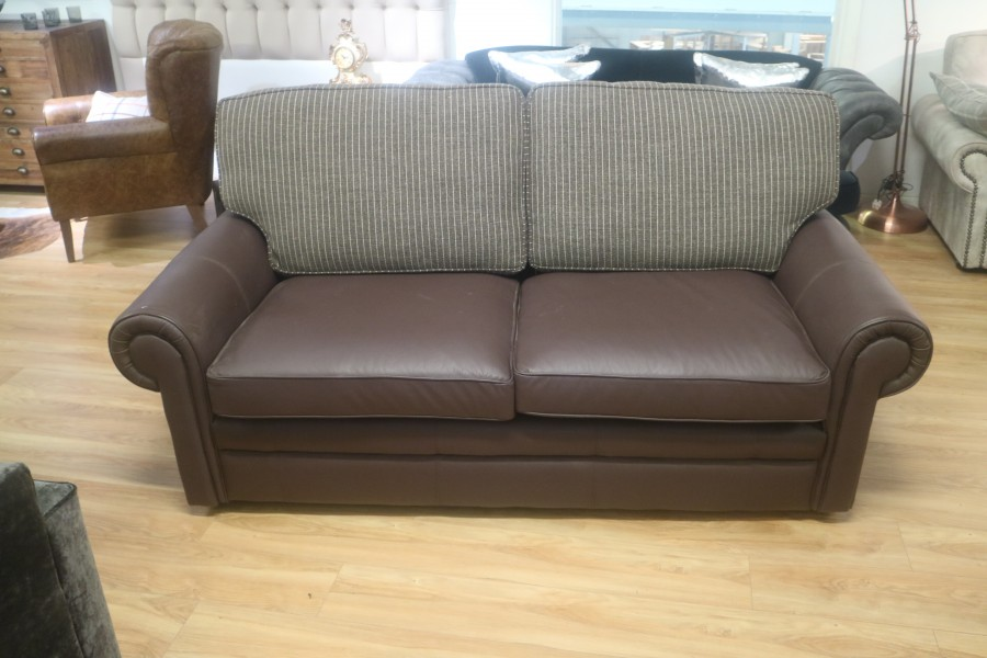 The English Sofa Company - Portland Leather Sofa - 3 seater ...