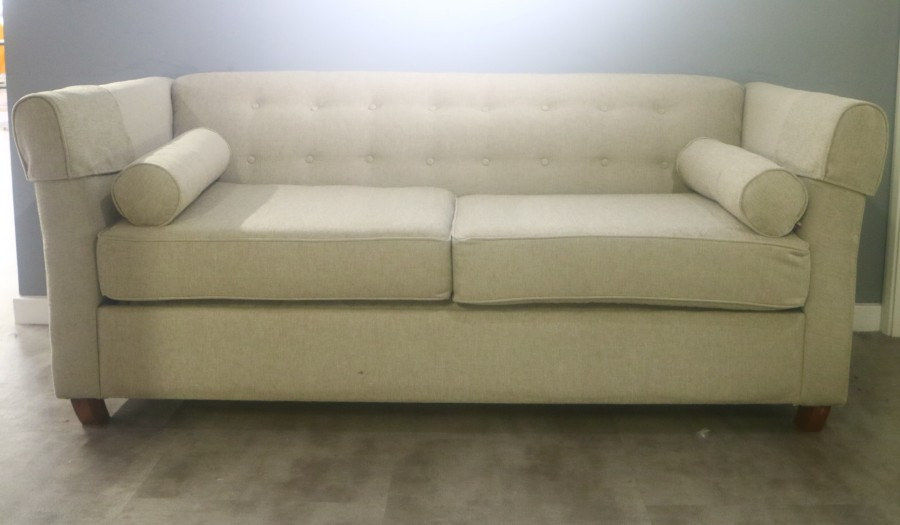 Bespoke 3 Seater Sofa Bed - Ancona Silver