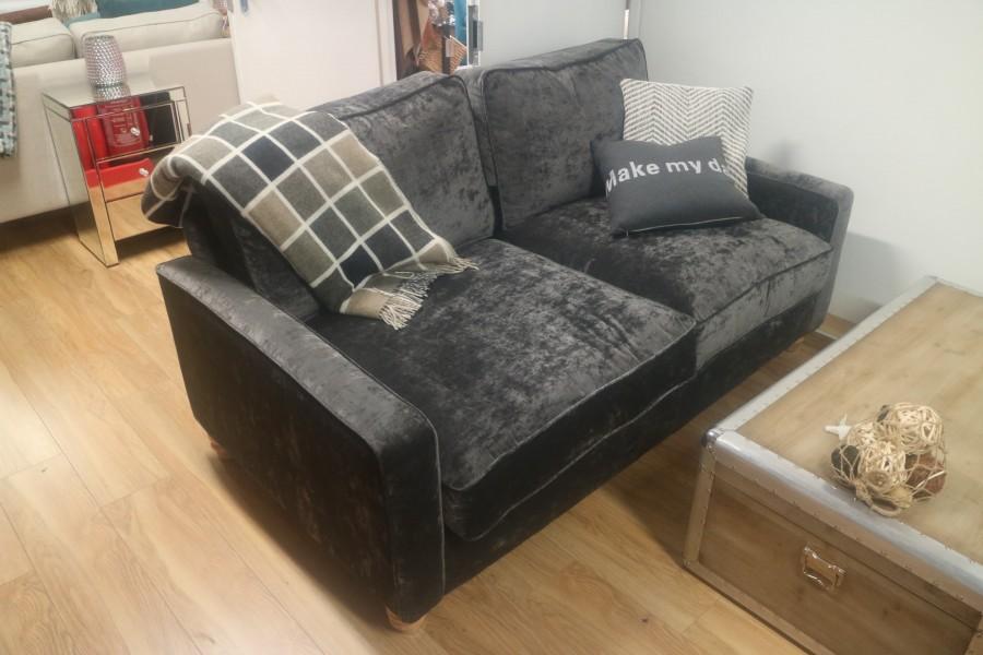 Drake Nordic Sofa - 3 Seater - Lead