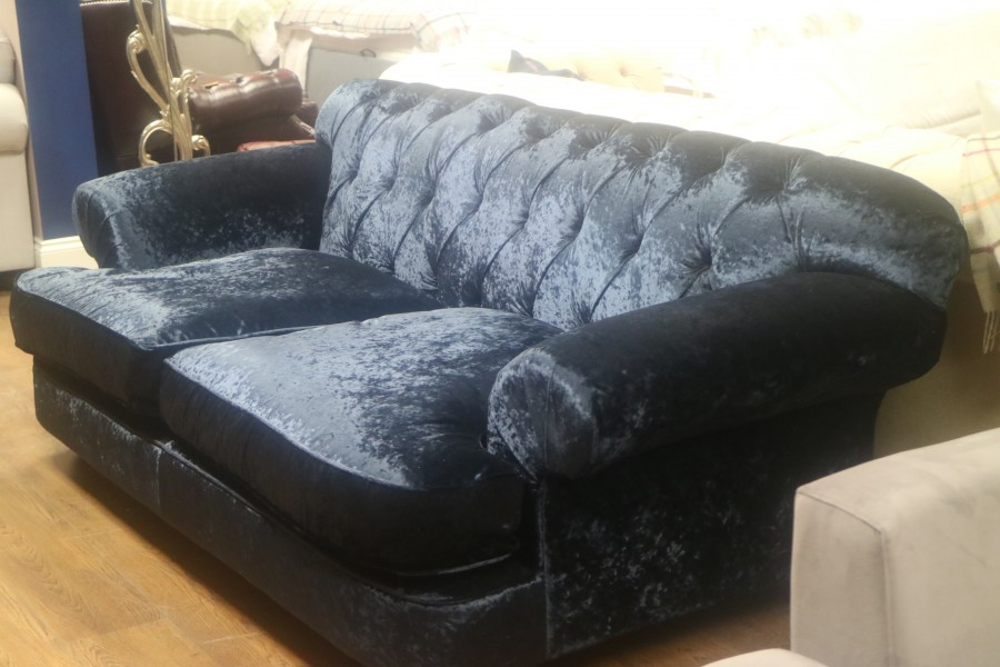 3 Seater Sofa - Delft Blue