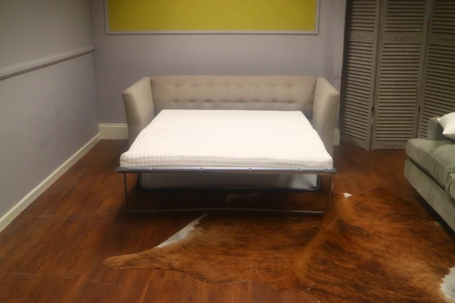3 Seater Sofa Bed - Ancona Silver