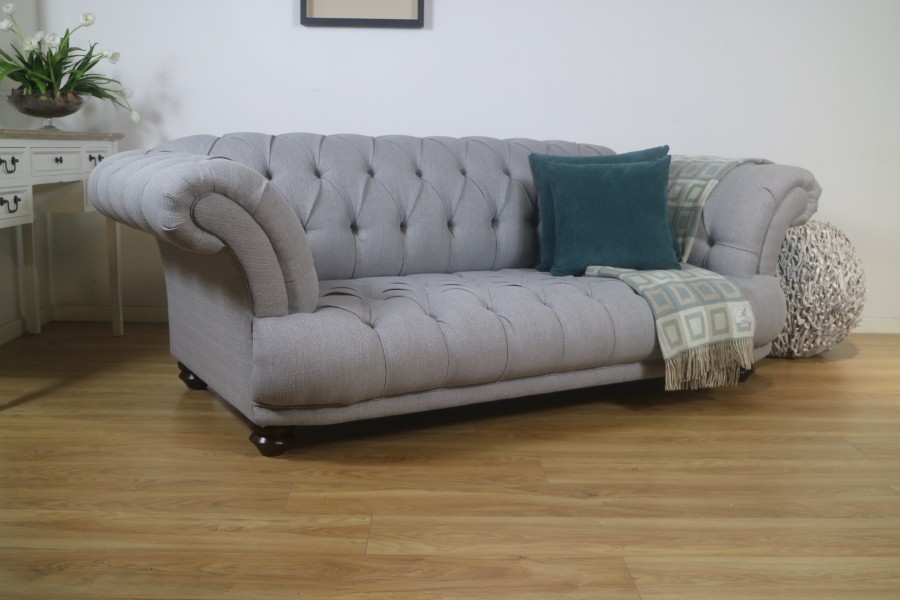 Fabric St Edmund - 3 Seater - Ash
