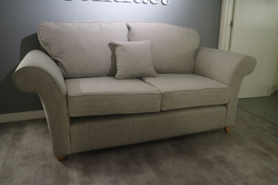 2 Seater Fabric Sofa - 2 seater - Porto French Grey