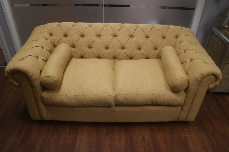 2.5 Seater Sofa Bed Gold - Key Largo Marigold