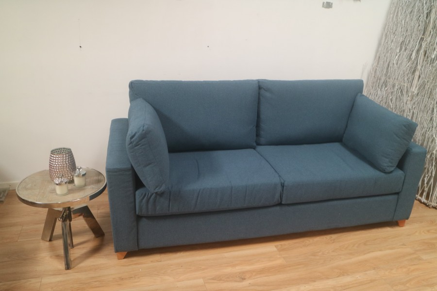 3.5 Seater Sofa Bed- Portreath Denim