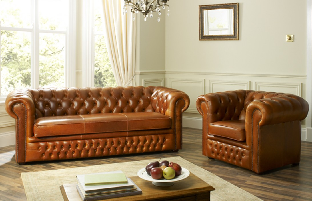 Cambridge leather chesterfield sofa leather chesterfield for Sofa company