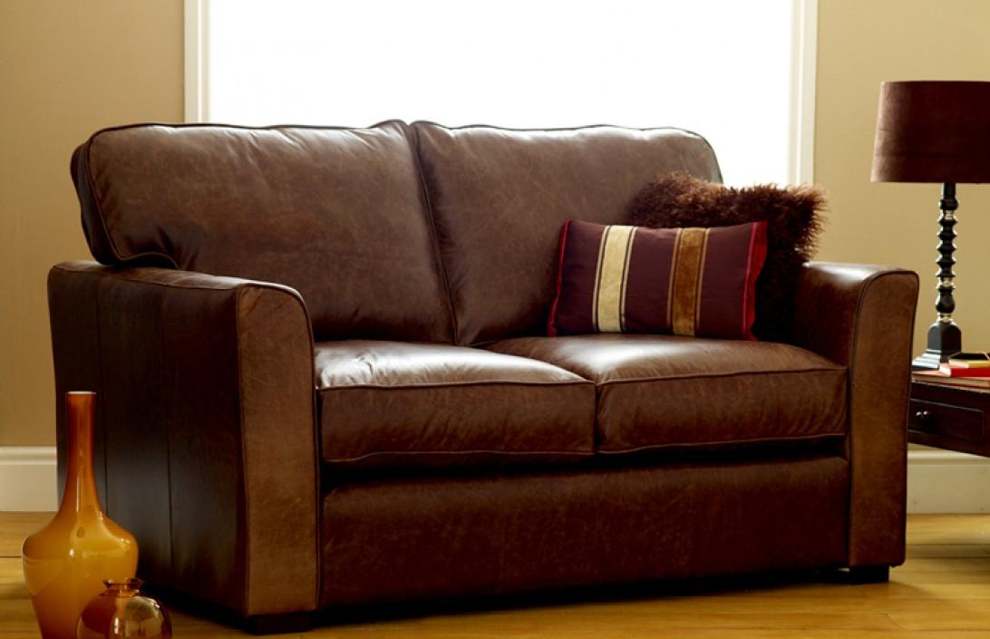 Sofa Beds The Torino Premium Leather Sofa Bed