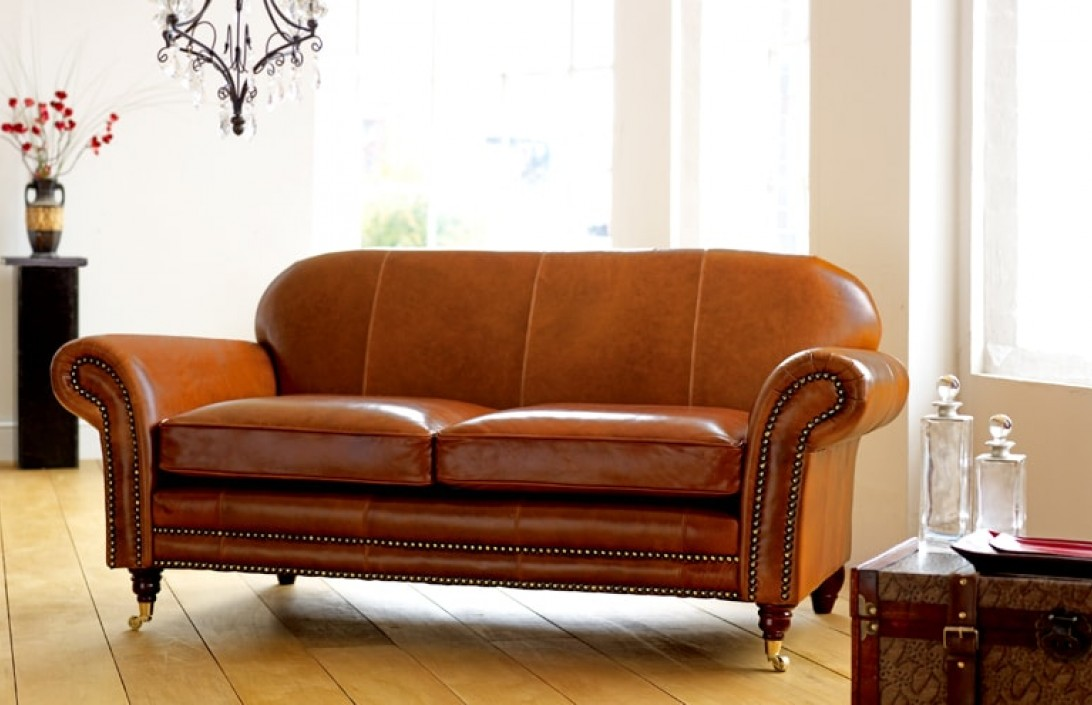 Rochester Vintage Leather Settee Leather Sofas