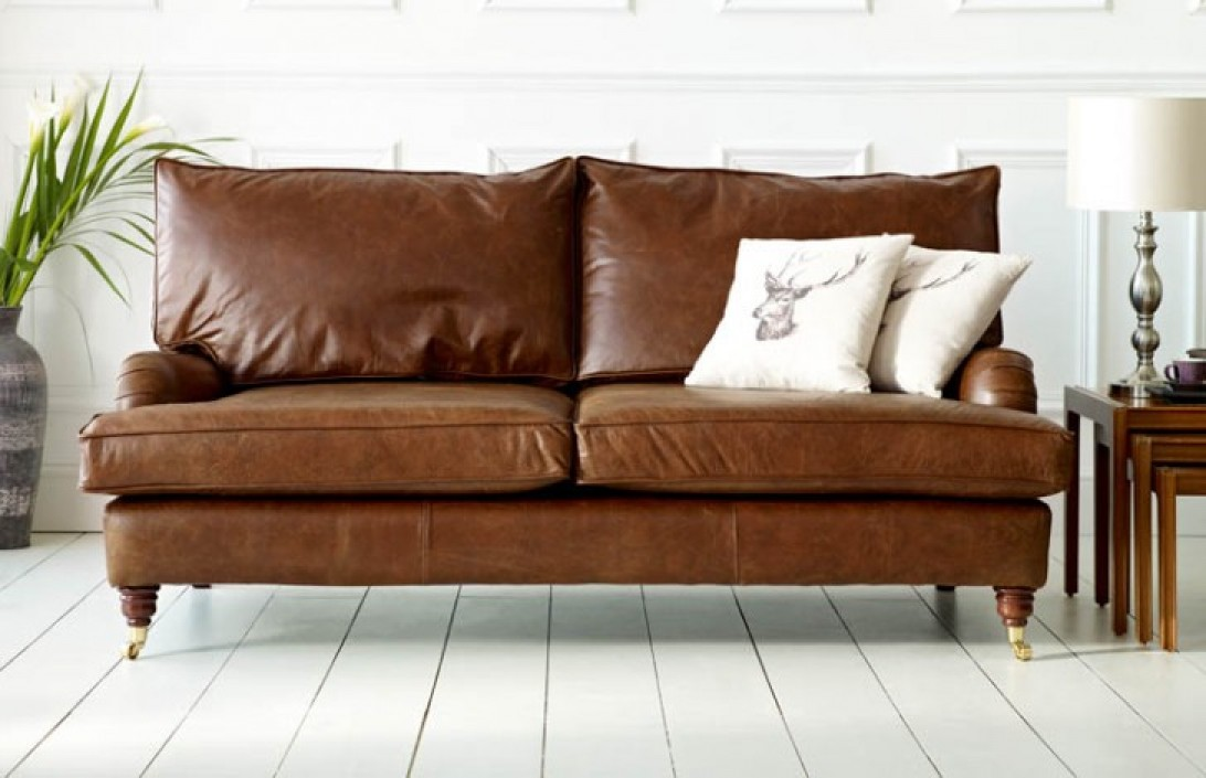 Holbeck leather vintage couch leather sofas for Sofa company
