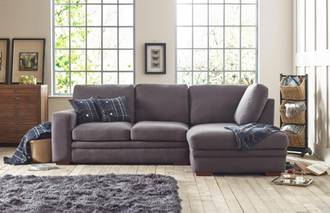 abbey contemporary chaise sofa fabric corner sofas. Black Bedroom Furniture Sets. Home Design Ideas
