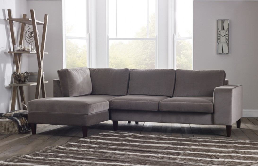 : fabric chaise sofa - Sectionals, Sofas & Couches