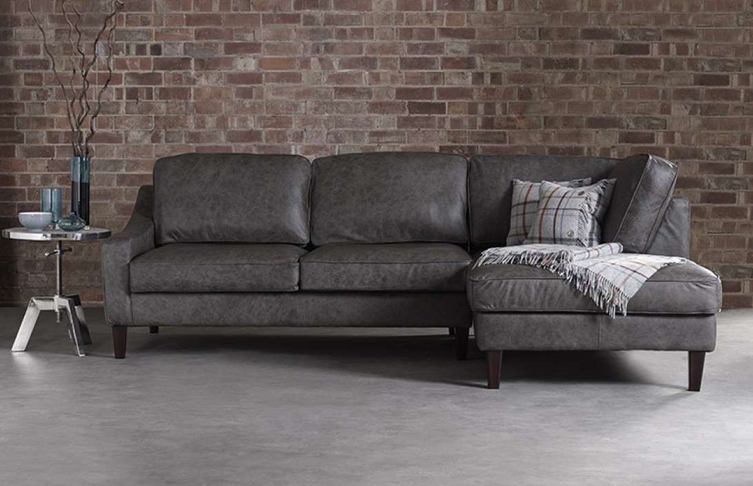 3 5 X Chaise Sofa Hilary Leather Chaise Living Room