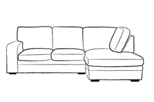 3.5 x Chaise Corner Sofabed