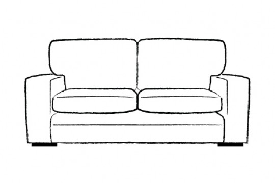 2.5 Seater Sofa Bed