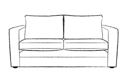 3.5 Seater Sofa bed