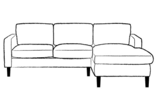 Drake Leather Chaise Sofa Leather Sofas