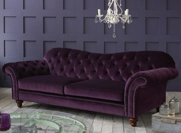 Merveilleux Vintage Chesterfield Sofa